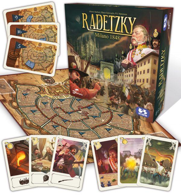 plancia carte radetzky