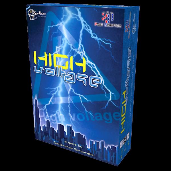 high voltage scatola