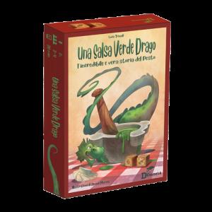 una salsa verde drago scatola